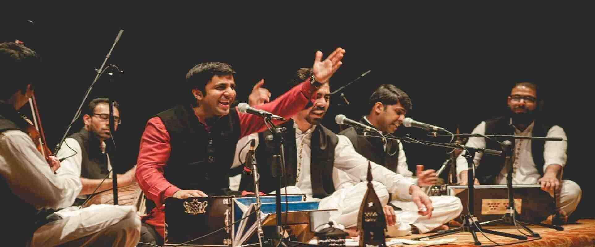Riyaaz Qawwali singing