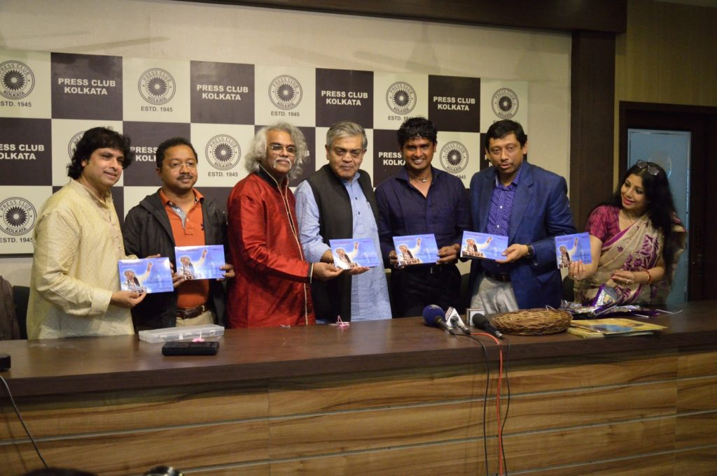 Notable Santoor players pose at the Brand Next QR Code Music Card Launch