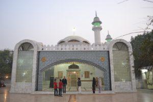 The shrine of Bulleh Shah