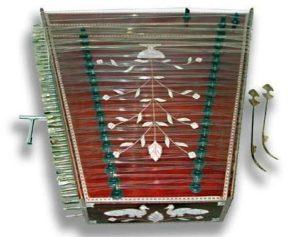 An Indian Santoor