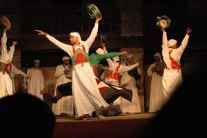 Sufis dancing