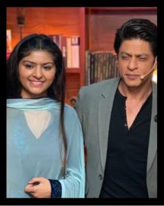 Jyoti and Shahrukh Khan Bollywood actor
