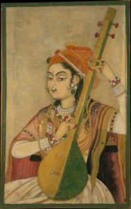 tanpura playing technique