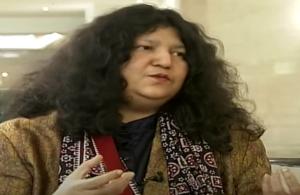 Abida Parveen with long hair