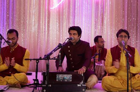 Sufi musicians performing