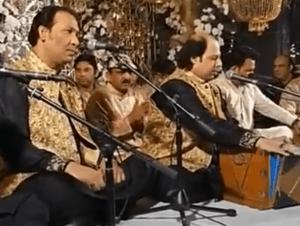Muazzam and Rizwan Performing Qawwali in mehfil